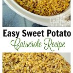 Easy Sweet Potato Casserole Recipe with Frosted Corn Flakes!