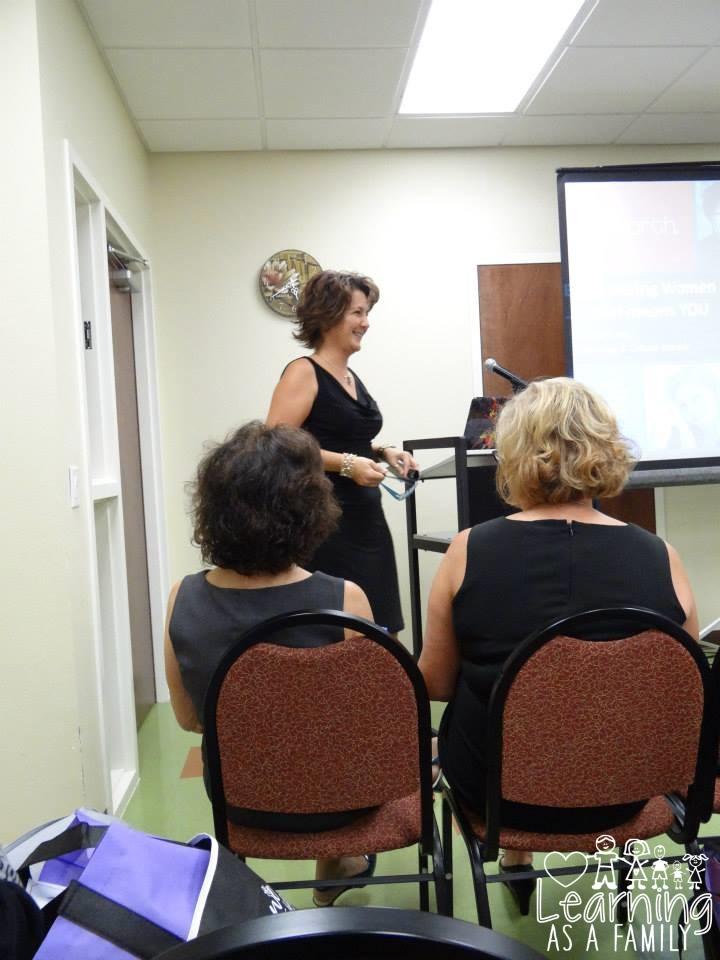 Seminar on Finances for Women at WE Women Enlightened Event