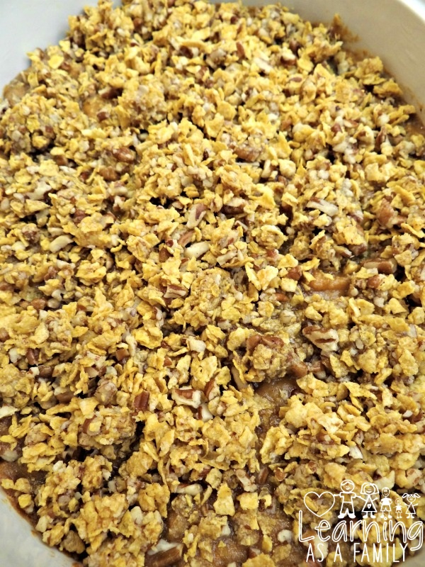 Easy Sweet Potato Recipe with Frosted Corn Flakes