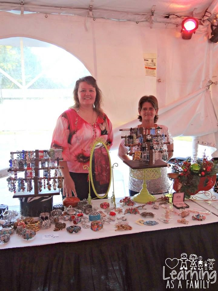 Vendors at WE women Enlightened Event