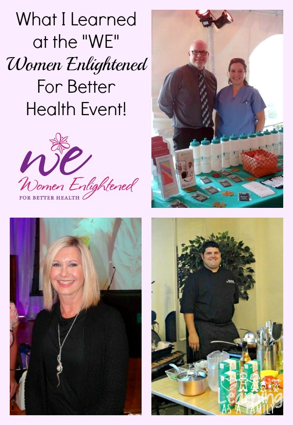 WE Event in Manatee Memorial Hospital with Olivia Newton John