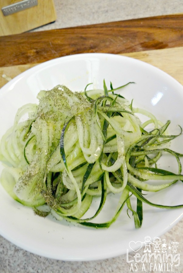 Cucumber Noodles Recipe