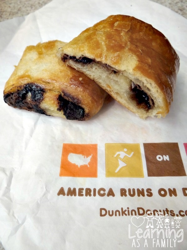 Dunkin Donuts Chocolate Croissant