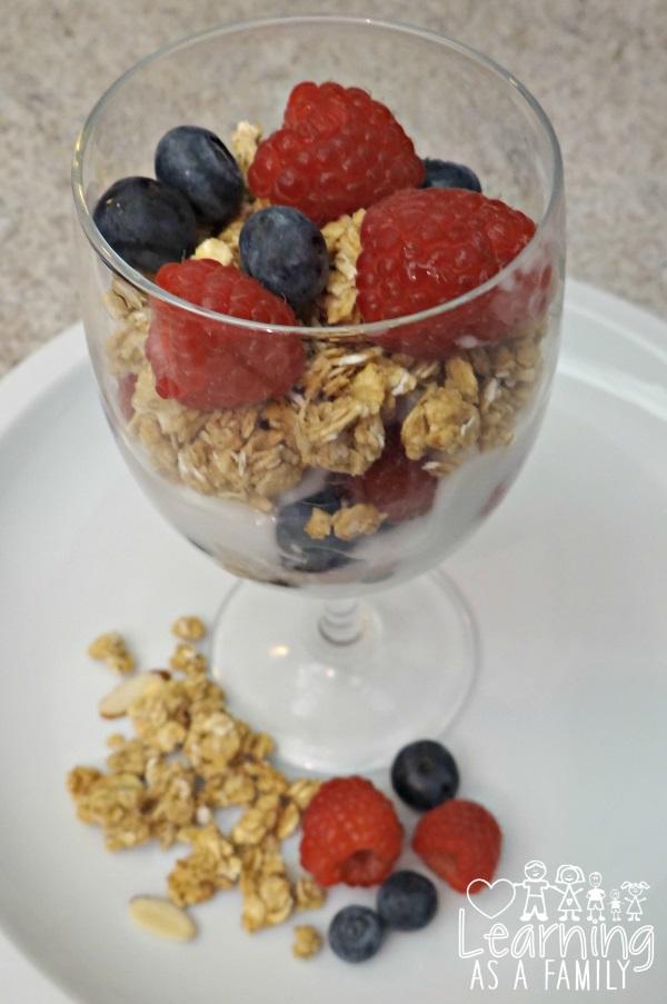 Granola Fruit Parfait Recipe!