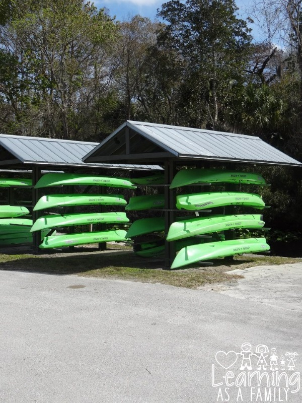 Wekiva Island Kayaks for rent