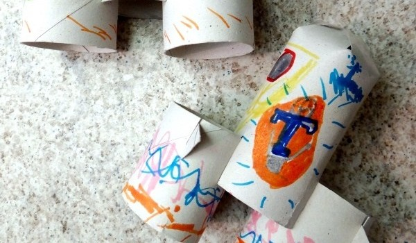 Toilet Paper Roll Rocket Craft With TOMORROWLAND Activity Sheets!