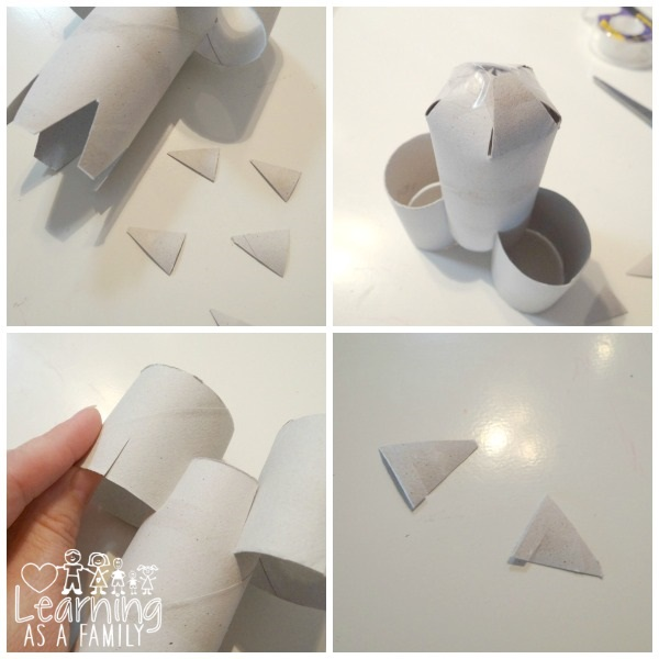 Directions for Toilet Paper Roll Rocket Part 2