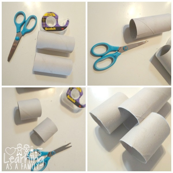 Directions for Toilet Paper Roll Rocket