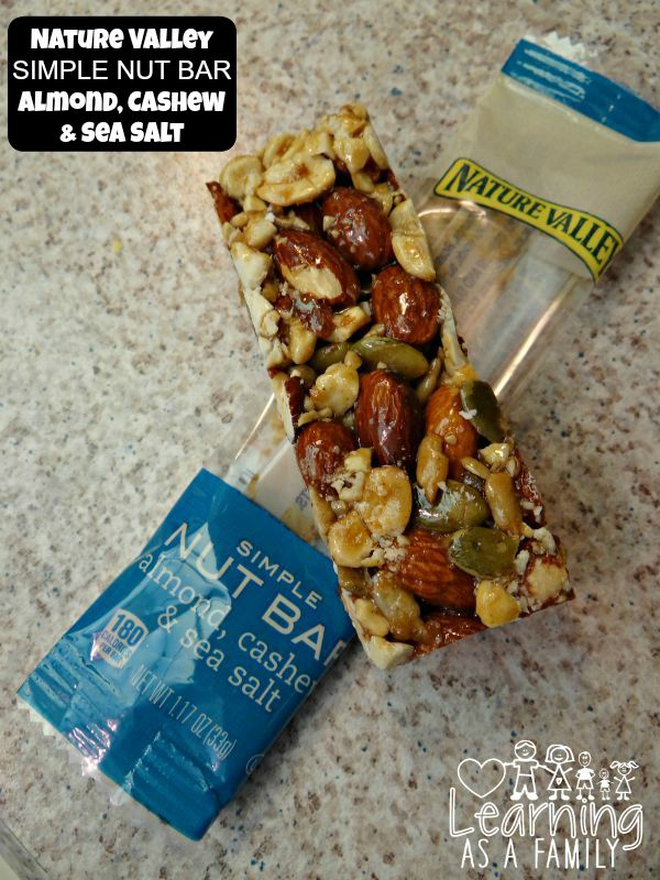 Nature Valley Almond Cashew Sea Salt Simple Nut Bar