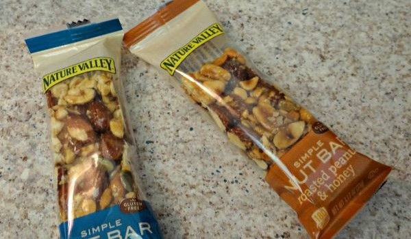 Nature Valley Simple Nut Bar, Gluten Free and Convenient For On The Go!