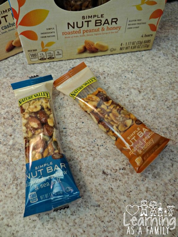 Nature Valley Simple Nut Bars in packaging