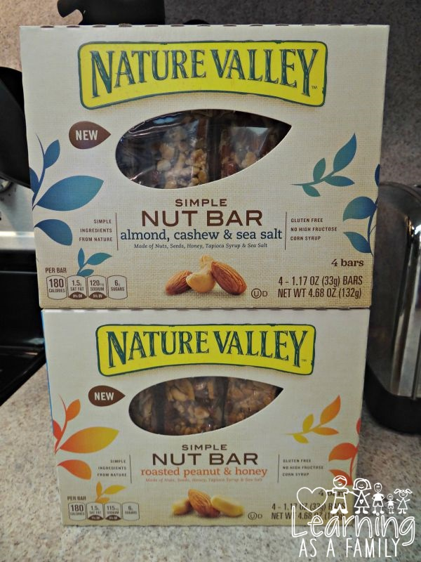 Nature Valley Simple Nut Bars
