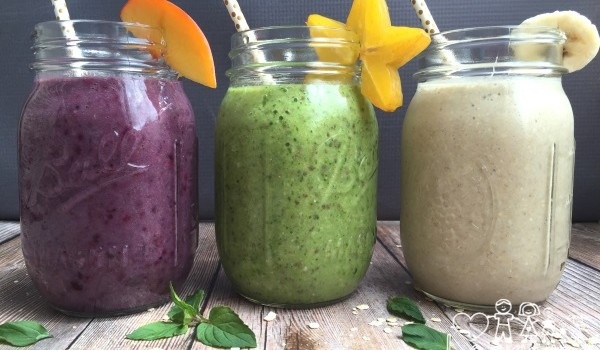 Back to School Smoothie Recipes for Busy Weekday Mornings!