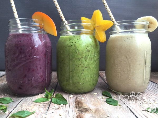 3 Back to School Smoothies