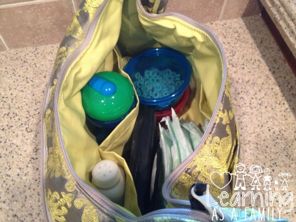 Nuby Wash or Toss™ Stackable Bowls in diaper bag