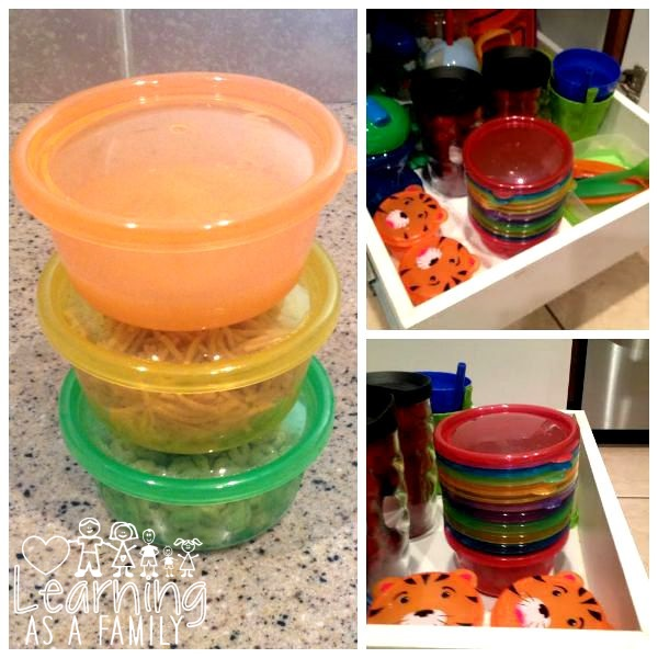 Nuby Wash or Toss™ Stackable Bowls Great for storage and storing