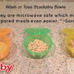 Nuby Wash or Toss Stackable Bowls Review!