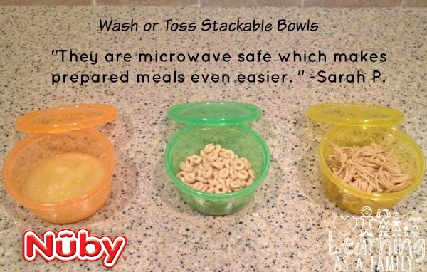 Nuby Wash or Toss Stackable Bowls Review