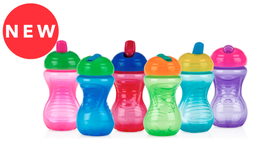 Nuby flip spout easy grip cup