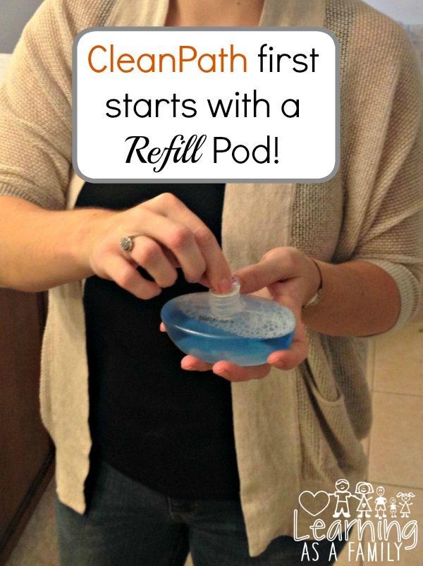 CleanPath Refill Pod
