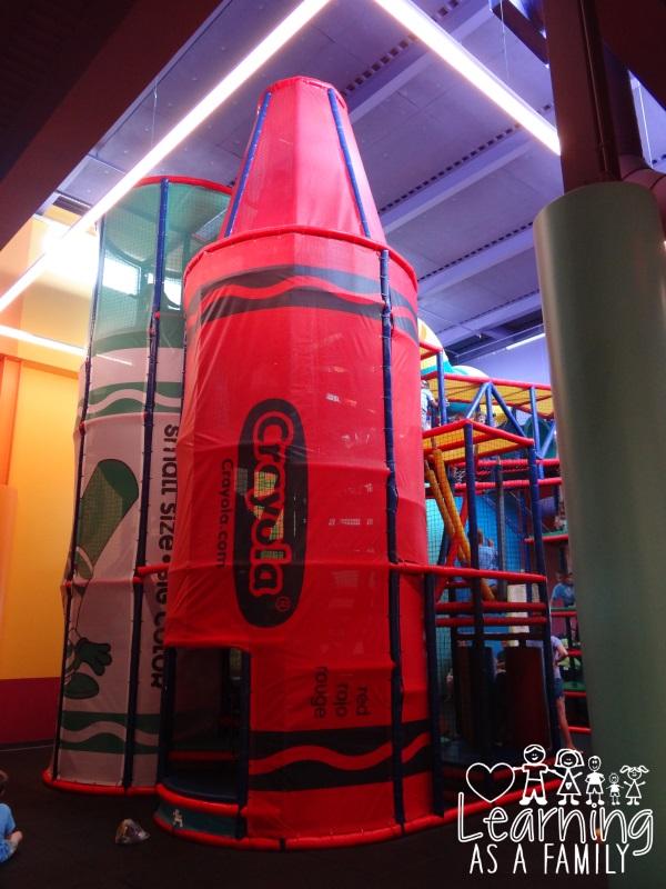 Indoor Play area at Crayola Experience