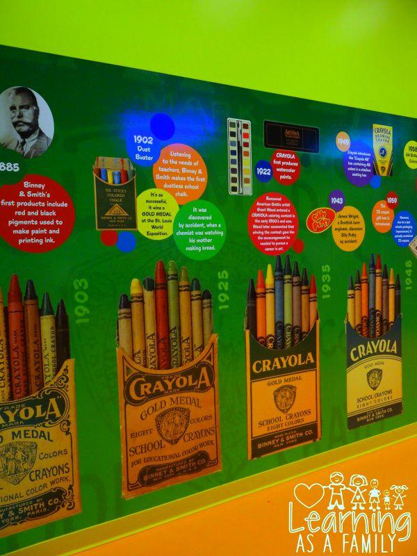 The history of Crayola