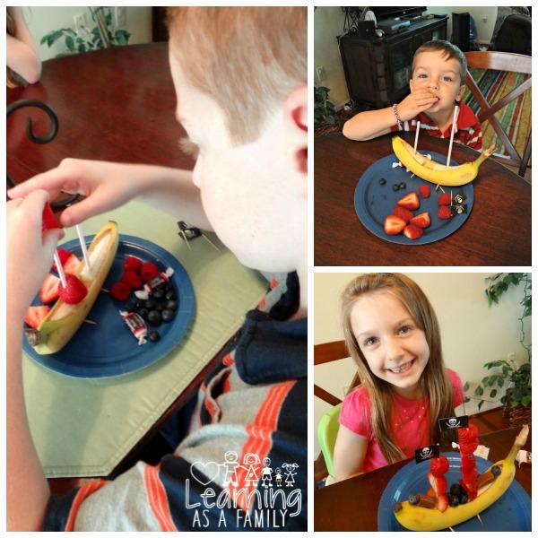 Making a Banana Pirate Ship