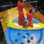 Banana Pirate Ship Food Craft! A Delicious Hands On Activity!