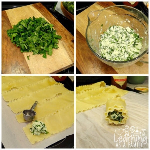 How to make Lasagna Rolls