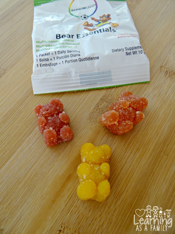 Rainbow Light Bear Essentials Gummies Multivitamins