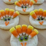Learning How To Make Turkey Cookies!