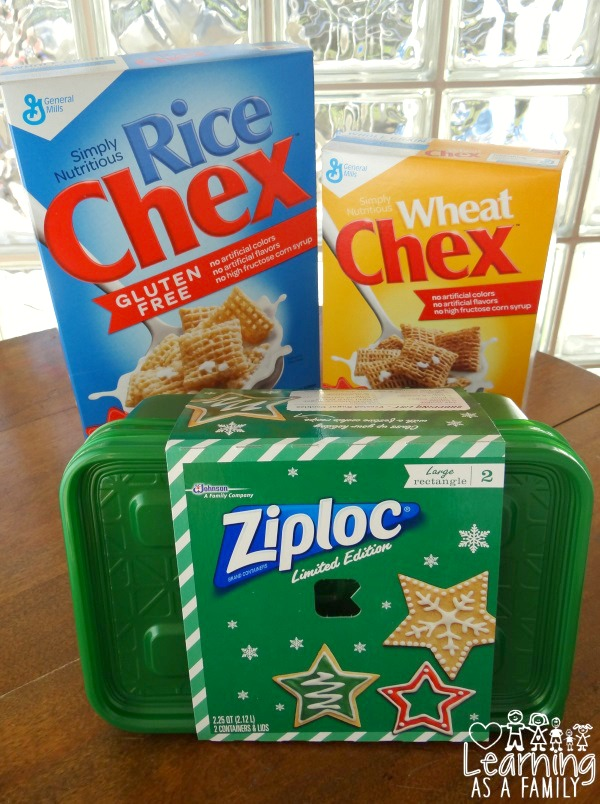 Chex cereals and Ziploc avaliable at Publix