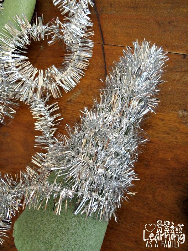 Handmade Garland Christmas Tree Tutorial