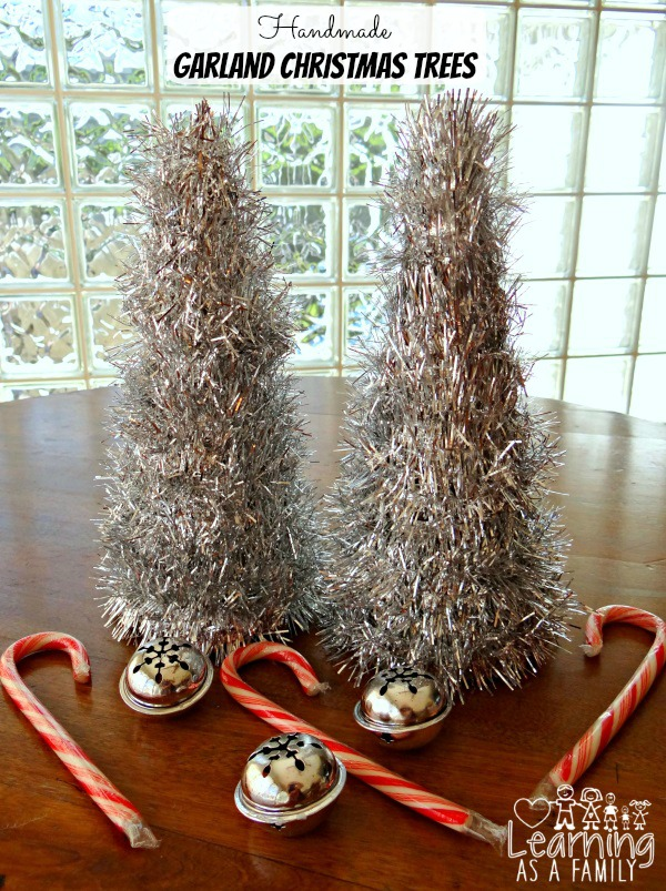 Handmade Garland Christmas Tree