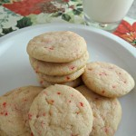 Easy Peppermint Sugar Cookies Recipe!