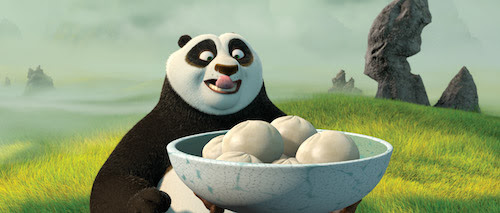 Dumpling and Kung Fu Panda