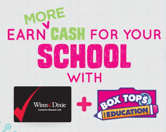 E Box Tops at Winn Dixie