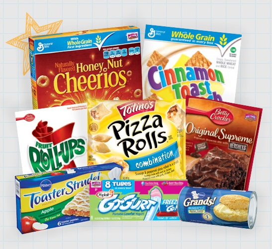 Eligable products for E box Tops at Winn Dixie