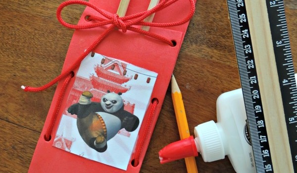 Kung Fu Panda Chopstick Pouch Craft With 2 Disc DVD Giveaway! #PandaInsiders