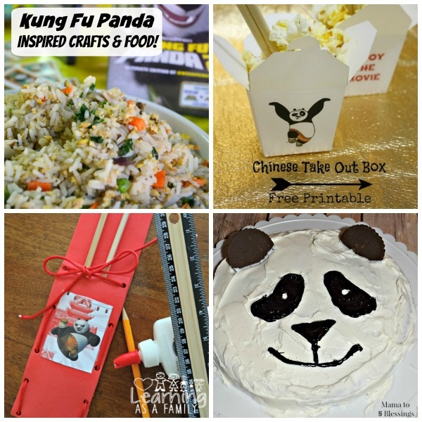 Kung Fu Panda Crafts and Food