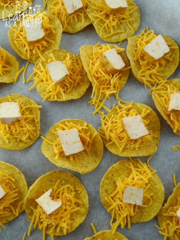 MakingChipotle Tortilla Appetizers