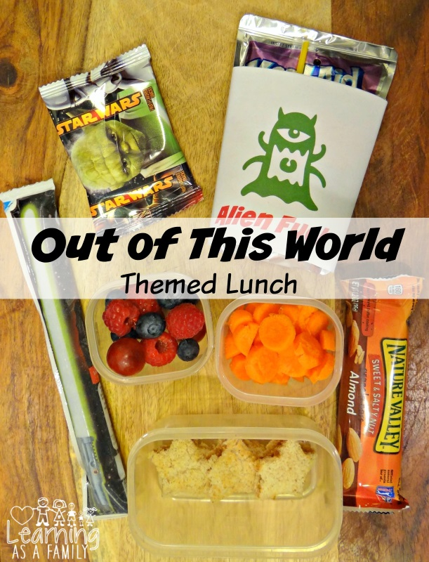 Out of This World Themed Lunch