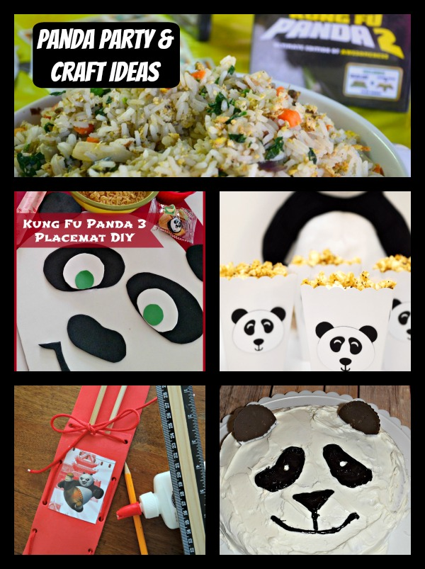 Panda Party Ideas and Crafts