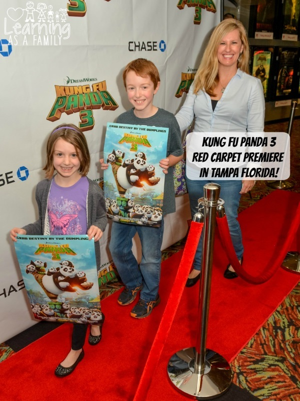 Red Carpet Premiere Tampa Florida Kung Fu Panda 3