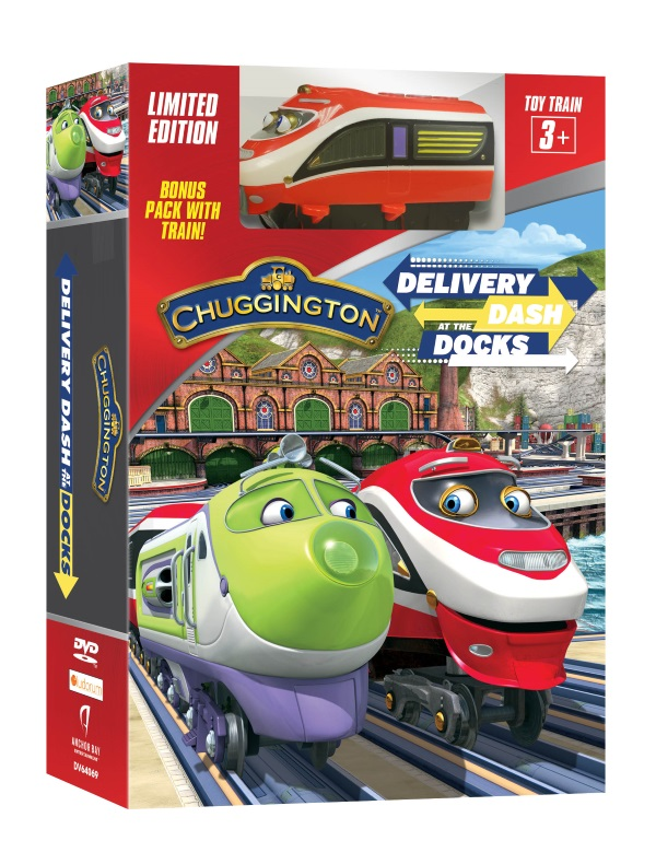 Chuggington Dash At The Docks Box with Train 3D