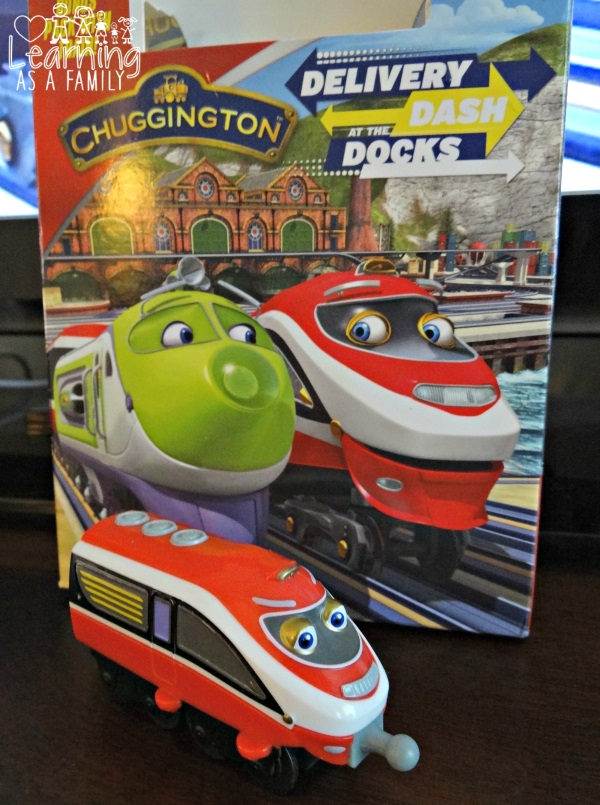 Chuggington Dash At The Docks Box with Train Daley
