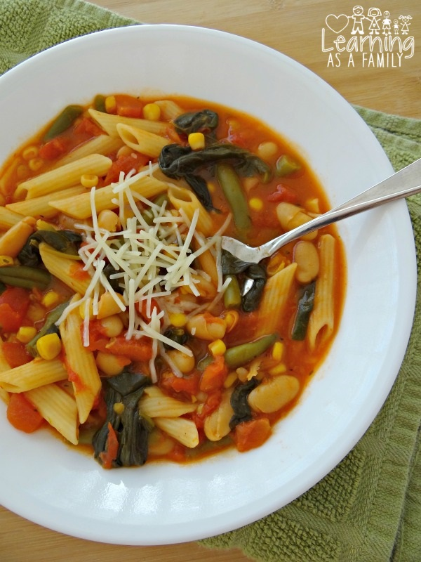 Homemade Minestrone Recipe