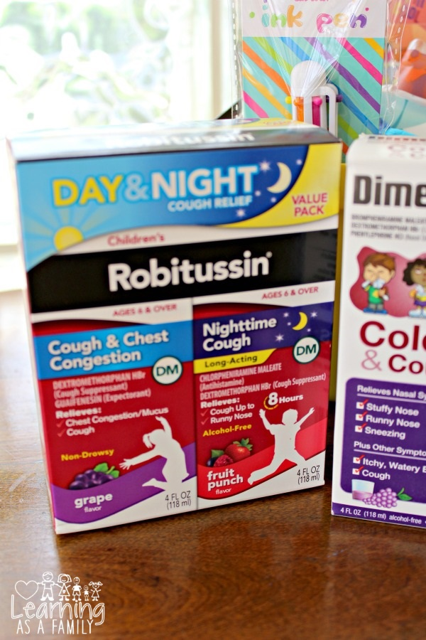 Children's Robitussin at Target