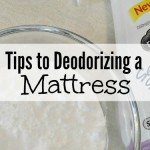 Tips to Deodorizing a Mattress!