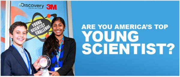 Discovery Education and 3M Young Scientist Challenge